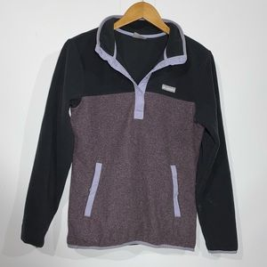Columbia snap t fleece